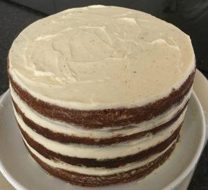 Chamomile Floral Cake recipe