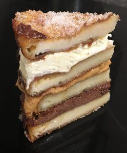 Churros Chocolate Caramel Cake
