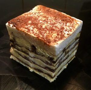 Chocolate and Hazelnut Sweet Lasagna recipe