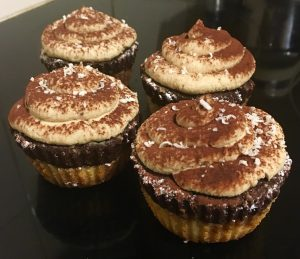 Chocolate Top-Deck Tiramisu Cupcakes recipe
