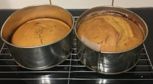 Spiced Sweet Potato Bourbon and Caramel Cake recipe