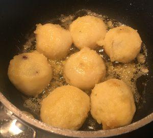 Cseresznyes Gomboc (Cherry Dumplings) recipe