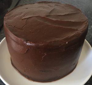 Green Smoothie Chocolate Cake recipe