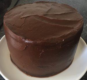 Green Smoothie Chocolate Cake recipe