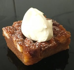 Caramel Butterscotch Schnapps and Peanut Butter Bread Pudding recipe