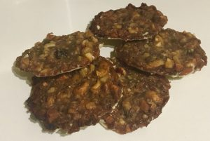 White Chocolate Cherry Florentines recipe