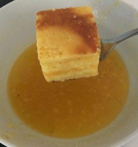 Mandarin and Curd Lamington recipe