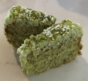 Bulgur Lemon Almond and Green Tea Cake recipe