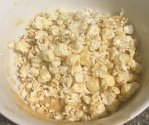 Popcorn Peanut and Protein Custard Ice-cream recipe