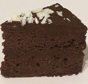 Cauliflower Chocolate and Coconut Cake