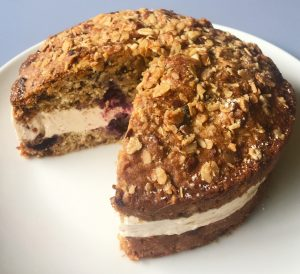 Berry and Granola Breakfast Cake recipe