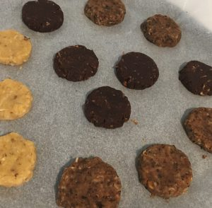 Chickpea Chocolate Coconut and Almond Cookies