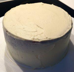 Pandan Lemon Vanilla and Coconut Cake