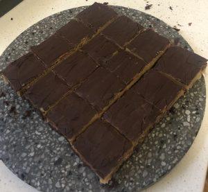 Orange Peppermint and Chocolate Slice recipe