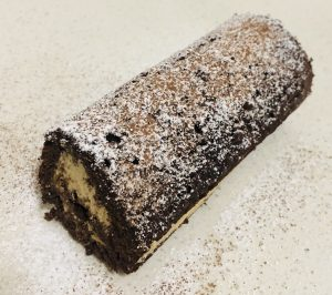 Cappuccino and Chocolate Roll Cake recipe