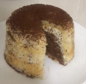 Fig Orange Chocolate and Almond Zuccotto recipe