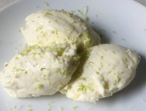 Citrus Spiked Simple Ice-Cream